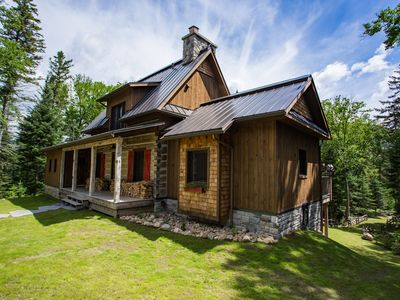 Photo for Quintessential Canadian Log Cabin