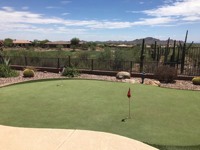 Photo for Elegantly decorated Home with Fabulous Golf Course, Desert and Mountain Views