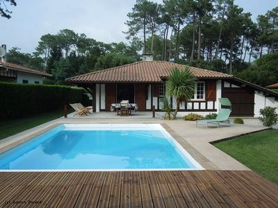 Photo for NICE VILLA with pool in a residential area of ​​Hossegor