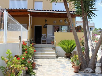 Photo for Villa Peñiscola at 100m sand beach, WIFI, pool, very well equipped