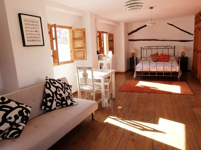 Photo for The best views in Alhama de Granada. Romantic loft space ideal for couples