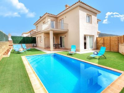 Photo for Sant Antoni de Calonge Holiday Home, Sleeps 7 with Pool, Air Con and Free WiFi
