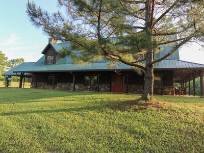 Photo for Thanksgiving Acres - 20+ acres of adventure & PLAY- 3 bedrooms PLUS loft -  So much FUN!
