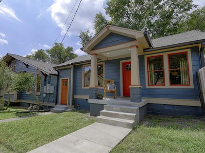 Photo for Designer cottage in lively 12 South neighborhood