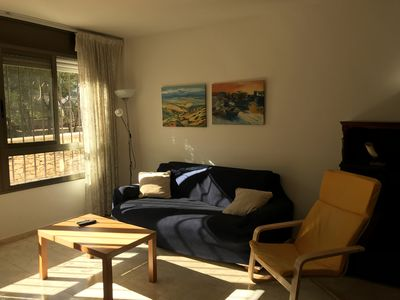 Photo for Beautiful apartment in the center of Sant Carles Ràpita and 100 meters from the beach