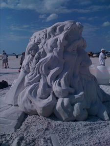 Treasure Island hosts sand castle competitions, street fairs, drum circles too!