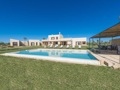 Photo for TALASSA - Villa with private pool in Campos.