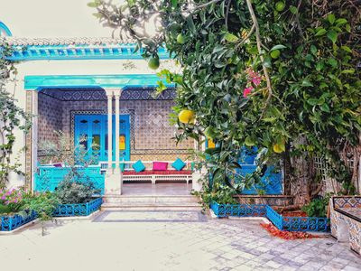 Photo for * VILLA LANDALUCIA *** ON THE HEIGHTS OF SIDI BOU SAID * UP TO 20 PEOPLE