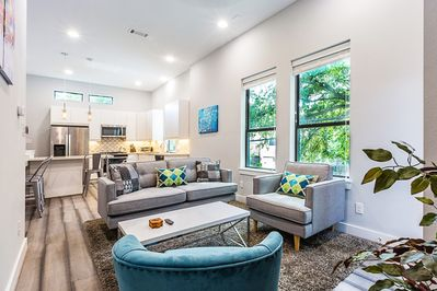 Cozy living space to entertain