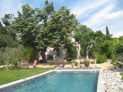 Photo for Charming house near town center of Aix en Provence, in a quiet pool