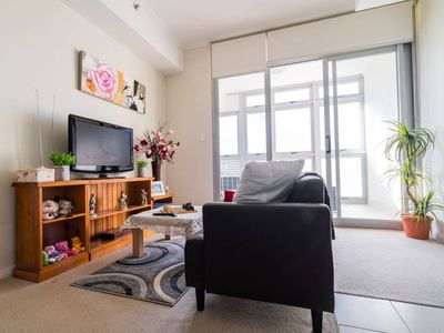 Photo for 2 Bedroom Burwood Apartment Next to Train Station - 13 minutes to Olympic Park!
