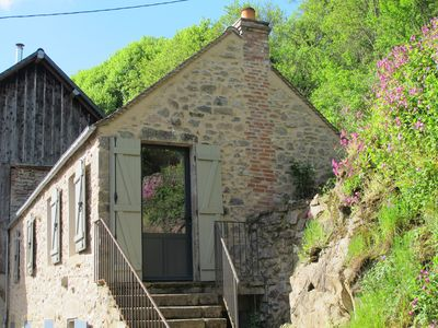 Photo for Gite surrounded by nature next to the river situated in the Morvan regional park