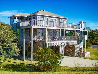 Photo for Have a Blast at this Semi-Soundfront Home, Salvo w/ Direct Sound Access, Hot Tub