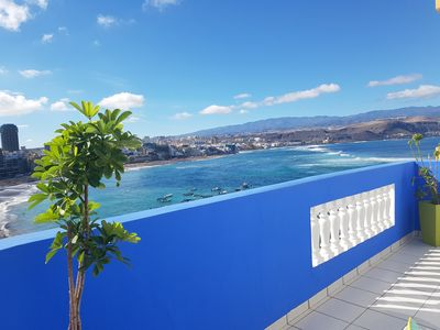Photo for Beachfront Apartment Las Canteras Beach  La Puntilla Area