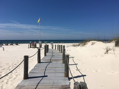 Photo for Spectacular Beach Side Studio Condo located at Gulf Shores Plantation