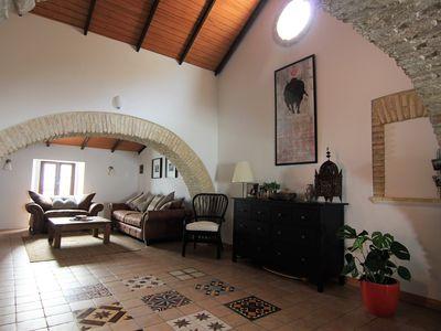 Photo for MEDINA SIDONIA Casa de Los Arcos Vaulted loft Apartment