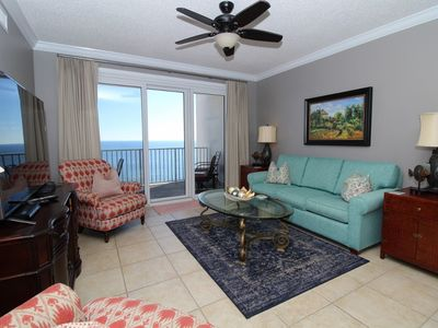 Photo for Windemere 1202-Beach View From Terrace with Luxurious Interior!