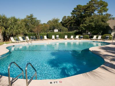 Photo for Sunny & bright, dog-friendly condo w/ golf course view plus shared pool & tennis