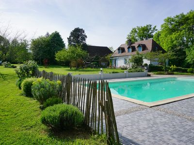 Photo for Perigourdin estate in the heart of nature with swimming pool and landscaped garden