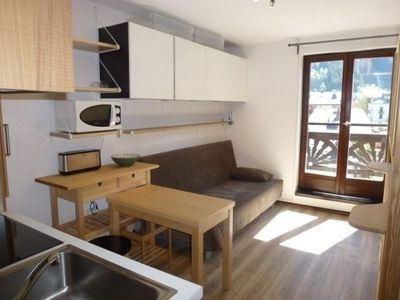 Photo for Apartment Chamonix-Mont-Blanc, studio flat, 2 persons