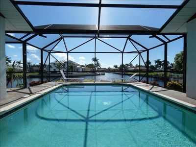 Photo for 417 Collier: Beautiful wide water canal view from this 2 Bed/2 bath home