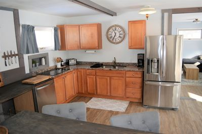 Kitchen/dining area in Cottage 1