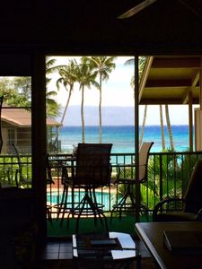 Photo for Direct Oceanfront 2bd/2bath Kaanapali/Lahaina area - Specials!!