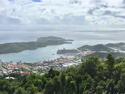Photo for Stress releasing view of St Thomas beautiful harbor