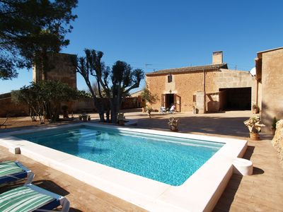 Photo for FINCA CAS MATEUS RELAX IN ES TRENC