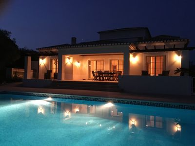 Photo for LUXURY 4 BEDROOM VILLA WITH POOL AND GARDEN. NEAR TO BEACH AND RESTAURANTS