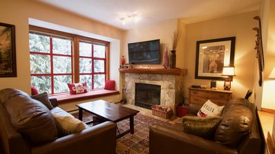 Photo for Spacious Rustic Whistler Retreat at the Woods