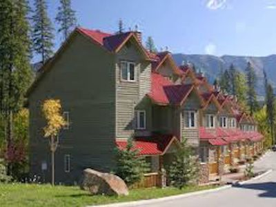 Photo for On-Hill Ski-in 3-Bedroom with Private Hot Tub Stone Creek, Fernie
