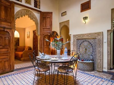 Photo for Beautiful Riad for a radiant and comfortable stay, Riad family.