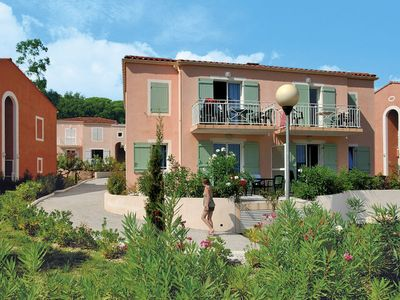 Photo for Villepey Apartment, Sleeps 5 with Pool and WiFi
