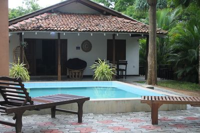 Villa and plunge pool