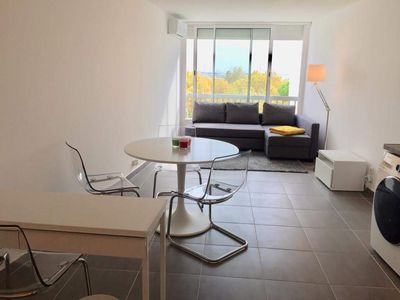 Photo for NEW 32m2 furnished renovated, elegant, 50 meters beach and shops