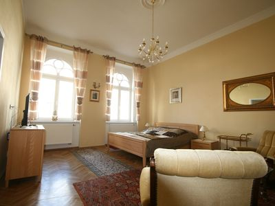Photo for Newly renovated City apartment in the center of the world spa town Karlovy Vary