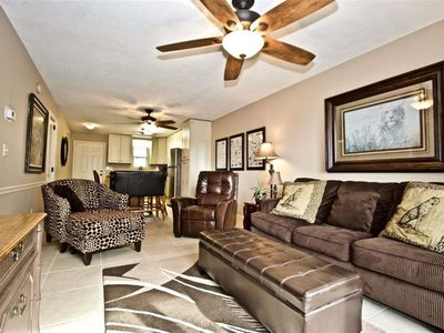 Photo for Modern 2 bed/ 2 bath condo just steps away from the beach!