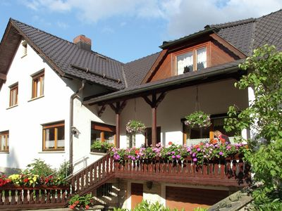 Photo for Comfortable holiday home with terraces located in the southern part of the Thuringia Forest