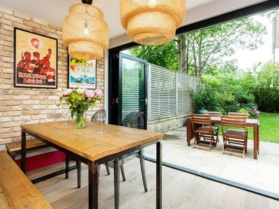 Photo for Rustic & chic 3 bedroom home in popular West London with private garden (veeve)