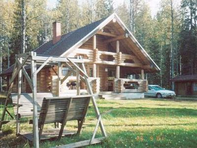 Photo for Vacation home Aurinkoniemi in Hankasalmi - 7 persons, 2 bedrooms