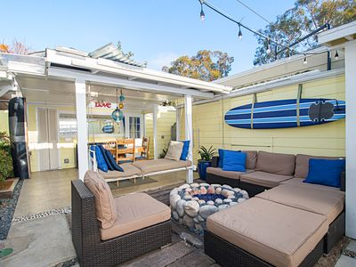 Photo for 2BR Near Beach – Private Courtyard w/ Fireplace and Outdoor Shower