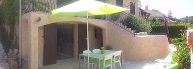 Photo for Studio 45 m2 + terrace, 4 persons, private parking and SEA 1km MARINELAND