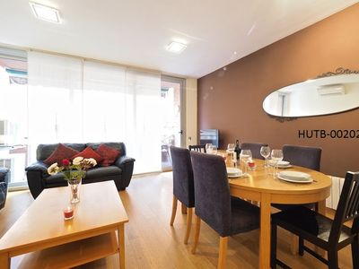 Photo for Apartment in Barcelona with Internet, Air conditioning, Lift, Terrace (443690)