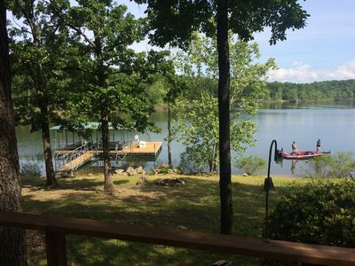 Photo for Secluded Table Rock Lake WATERFRONT House!
