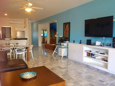 Photo for BEAUTIFUL Beach/Ocean Front Luxury Condo with Pool-ground floor/large patio
