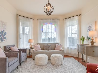 Photo for Historic & Tastefully Renovated Lilac Lady by the Bay–One Block from the Bay!