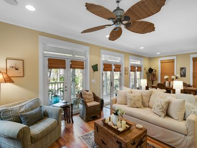 Photo for Gulf Side Beach Cottage ~ Screened Porch ~ In Beautiful Seagrove Beach, Florida!