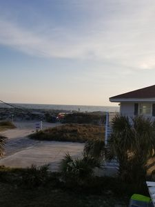 Photo for 1 Perfect sun-filled beach townhouse, only 20 steps to the beach!