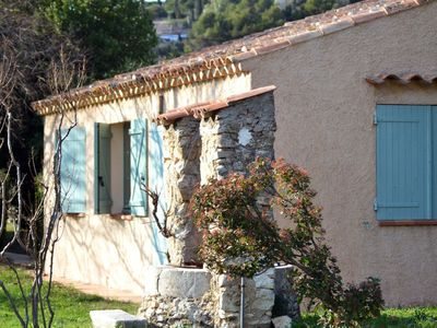 Photo for Charming villa in the middle of vineyards, olive trees and pine trees